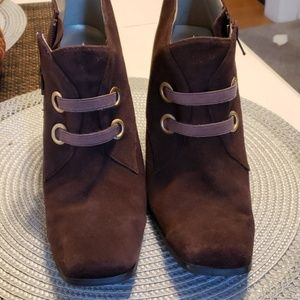 BELLINI SUEDE ANKLE BOOTS